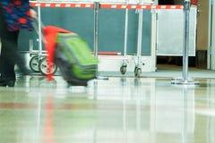 Flygplatsen rusar Royaltyfria Foton