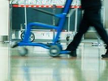 Flygplatsen rusar Royaltyfri Foto