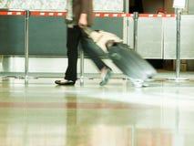 Flygplatsen rusar Royaltyfri Fotografi