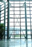 flygplatsfönster royaltyfria foton