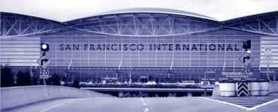flygplatsfrancisco international san Royaltyfria Bilder