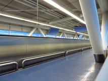 Flygplatsinredesign Arkivfoton