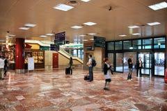 flygplatsinterior Royaltyfri Bild