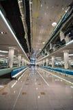 flygplatsinterior Arkivfoto