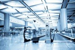 Flygplatsinterioren Royaltyfria Foton