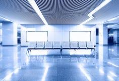 Flygplatsinterioren Arkivbilder