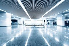 Flygplatsinterioren Royaltyfria Bilder