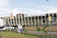 flygplatsinternational kigali Royaltyfria Foton