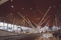 flygplatsinternational Kuala Lumpur Royaltyfria Bilder