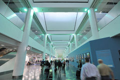 flygplatsinternational miami Royaltyfria Foton