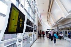 flygplatsinternational newark Arkivbilder