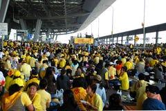 flygplatsinternationalsuvarnabhumi Royaltyfri Fotografi