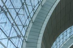 flygplatskonstruktion Royaltyfri Fotografi