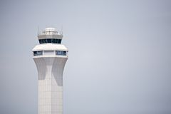 flygplatskontrolltorn Royaltyfri Foto