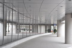 Flygplatskorridor Royaltyfri Fotografi