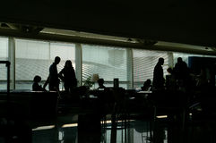 flygplatslaunge Royaltyfri Fotografi