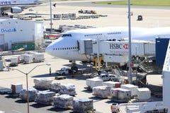 flygplatslivstid Royaltyfri Bild