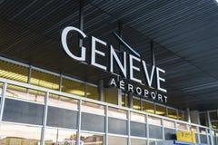 Flygplatslogo Arkivbild