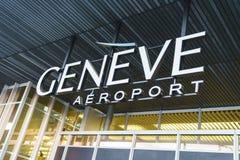 Flygplatslogo Arkivfoto