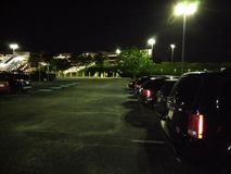 Flygplatsparkeringsplats Arkivbilder