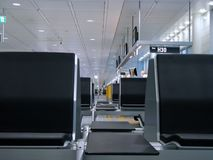 flygplatsperspektiv royaltyfria foton