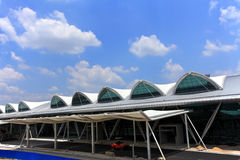 flygplatsporslin guangzhou fotografering för bildbyråer