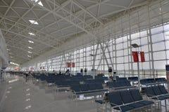 flygplatsporslin regionala jinan arkivfoton