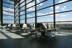 Flygplatsportar Royaltyfri Fotografi