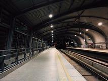 flygplatsraillink Arkivfoto