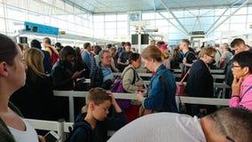 Flygplatssäkerhet royaltyfri fotografi