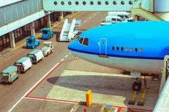 Flygplatsservice Royaltyfria Foton