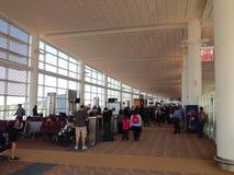 Flygplatssikt Royaltyfri Fotografi