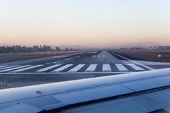 Flygplatsspår Fotografering för Bildbyråer