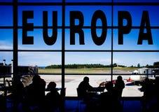 Flygplatsterminal Royaltyfri Bild