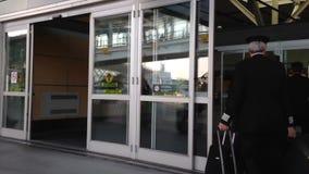 Flygplatsterminal för internationell ankomstingång Arkivfoto