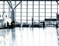 flygplatsterminal warsaw royaltyfria bilder