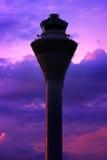 flygplatstorn Arkivfoto