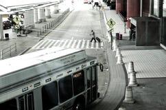Flygplatstrans. Arkivbilder