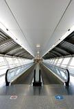 flygplatstunnel Arkivfoton