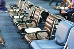 flygplatsvardagsrum royaltyfri bild