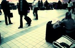 flygplatsvardagsrum Royaltyfri Foto