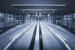 flygplatswalkway Fotografering för Bildbyråer
