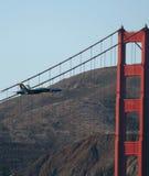 Flygshow för blåa änglar Arkivfoto