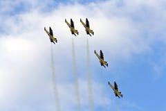 Flygshowlag Royaltyfri Fotografi