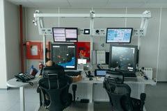 Flygtrafikkontroll (ATC) Arkivfoto