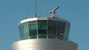 Flygtrafikkontrolltorn 4k lager videofilmer