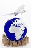 Flygtransport i USA royaltyfri foto