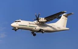 Flygtur! ATR 42 Royaltyfria Foton