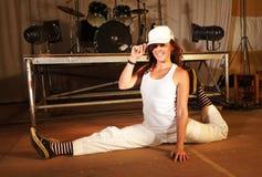 flygtur för dansarefristilhöft Royaltyfri Fotografi