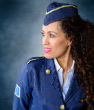 Flygvärdinna Royaltyfri Fotografi